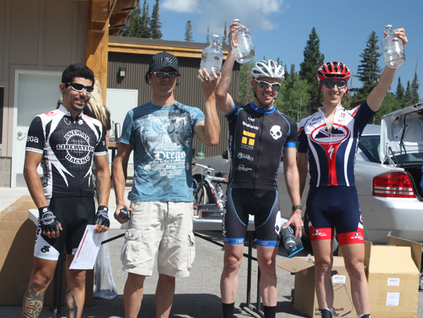 3rd Place at 2012 Porcupine Hill Climb, Cat 3