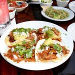 Tacos Al Pastor at Carboncitos