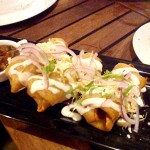 Chimichanga Appetizer at Luna Maya